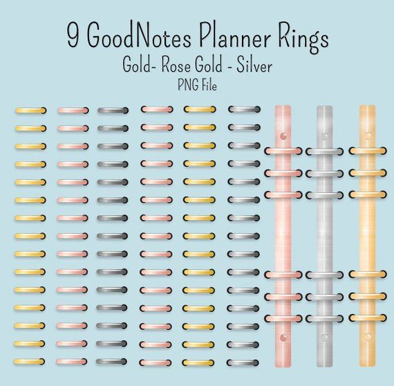 Rings digital clip art. Planner clipart three ring binder