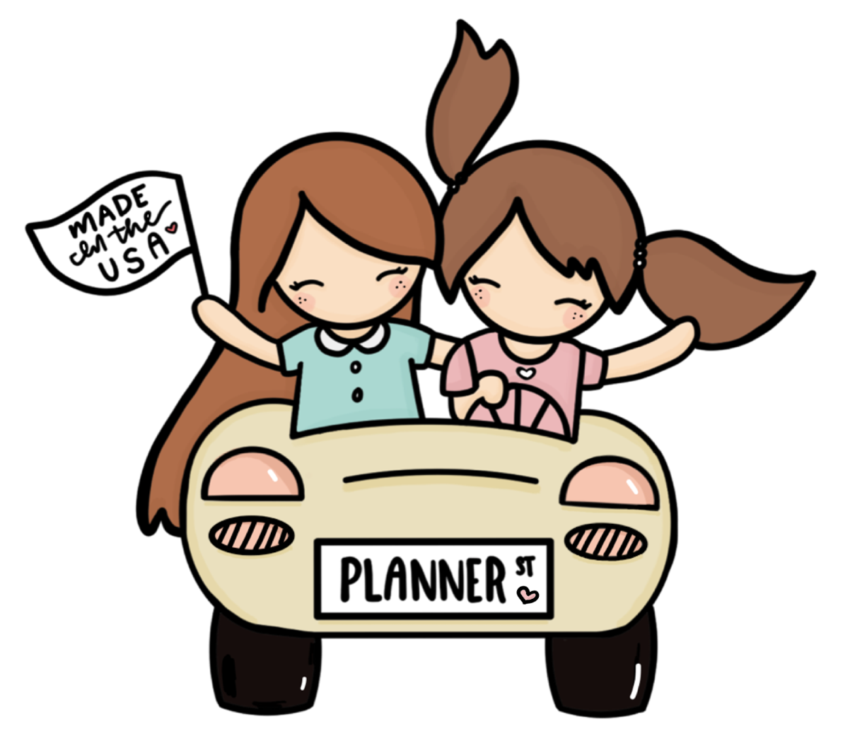 Planners have more fun. Planner clipart town planner
