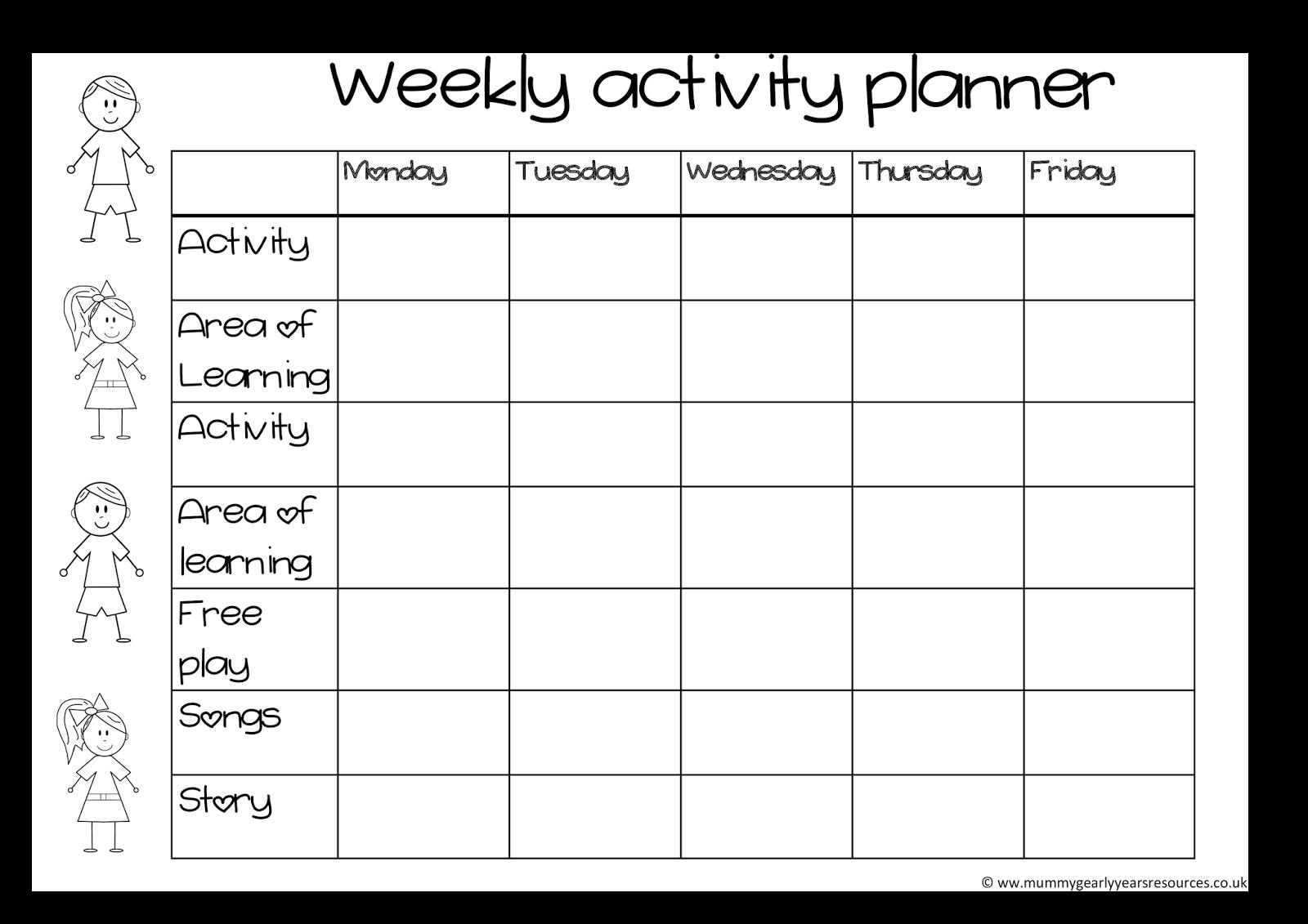 Blank png day template. Planner clipart week calendar