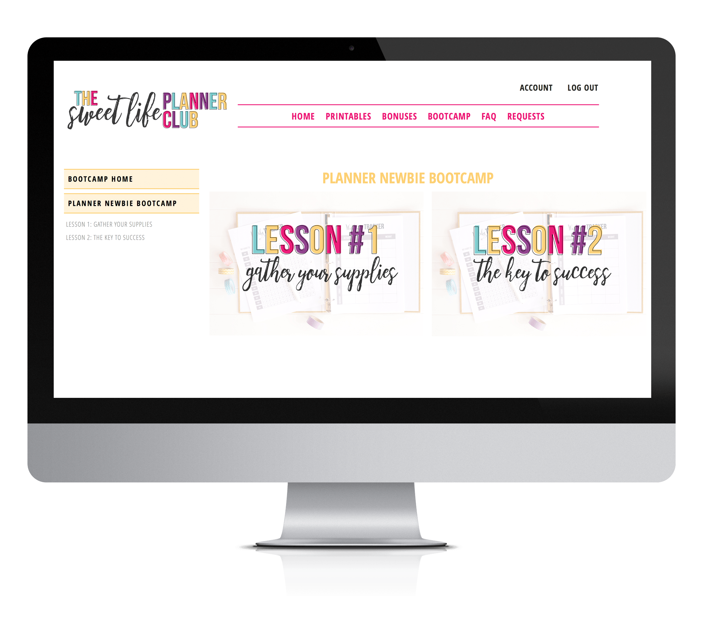 Sweet life club a. Planner clipart weekly planner