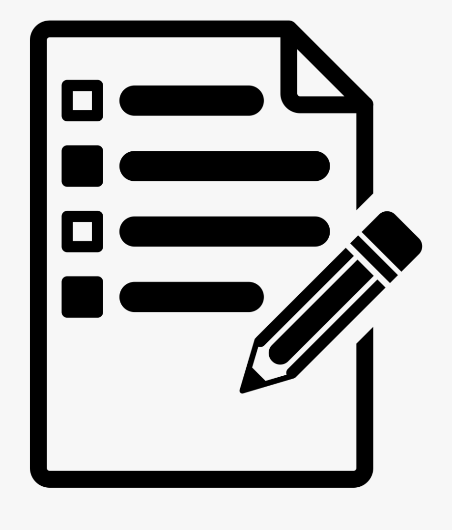 Task icon cliparts cartoons. Planning clipart list