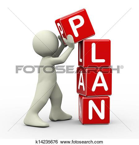 clip art clipartlook. Planning clipart man