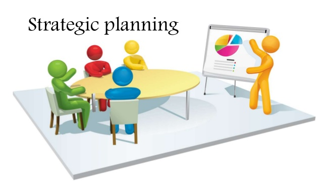 How is strategic carried. Planning clipart organisation