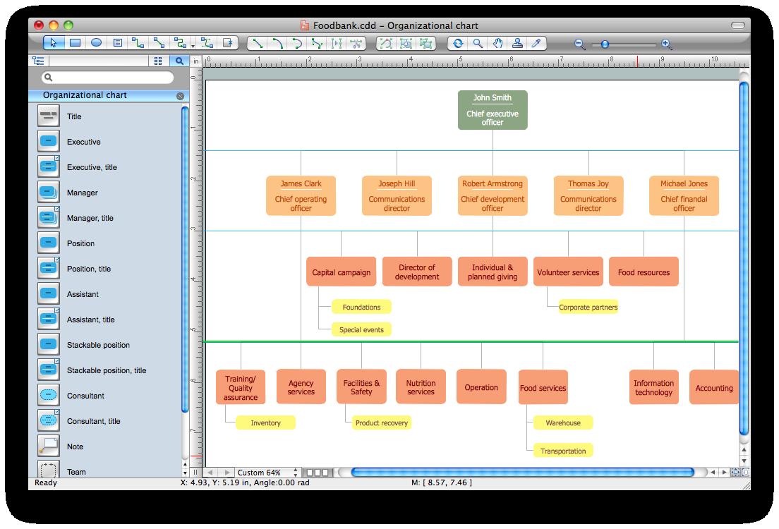 Structure diagram software. Planning clipart organizational plan