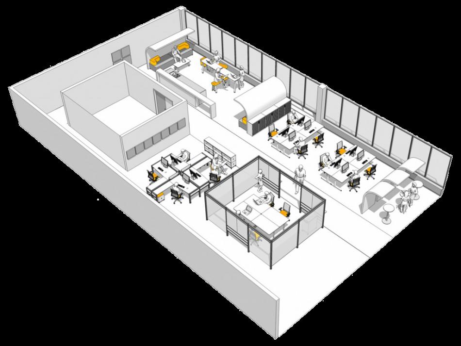 Planning clipart plan design. Office furniture space fine