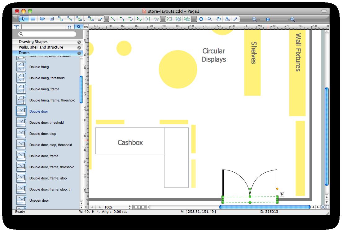 Interior storage and distribution. Planning clipart plan design