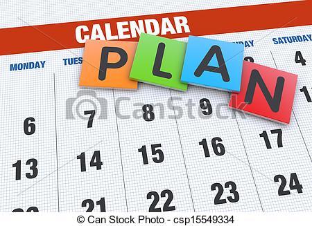 Planning clipart planning schedule. Calendar panda free images