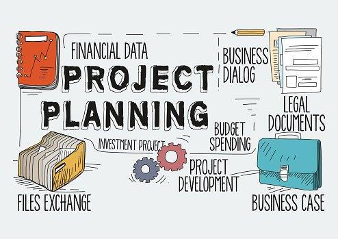 Planning clipart project brief. Concept premium clipartlogo com