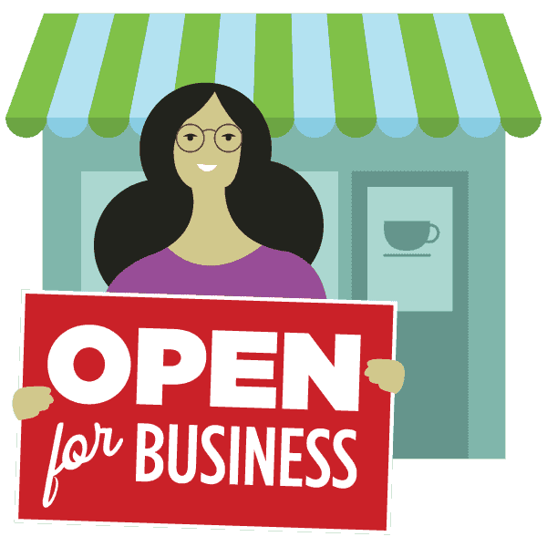 collection of own. Planning clipart small business
