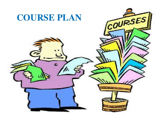 Course plan . Planning clipart topic
