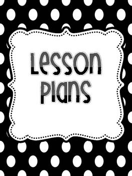 Free lesson binder covers. Planning clipart unit plan