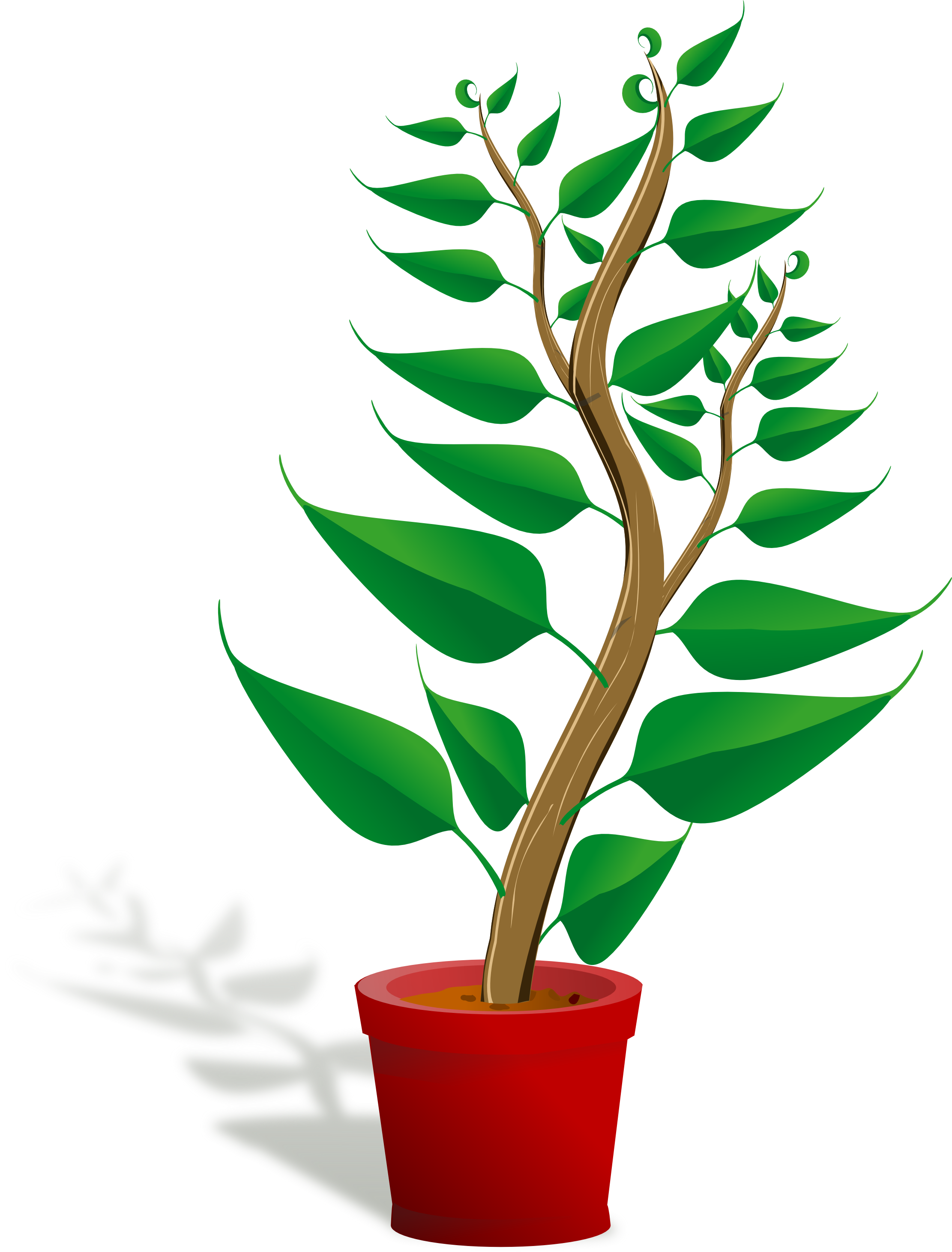 Tall clipart student. Plants clip art free