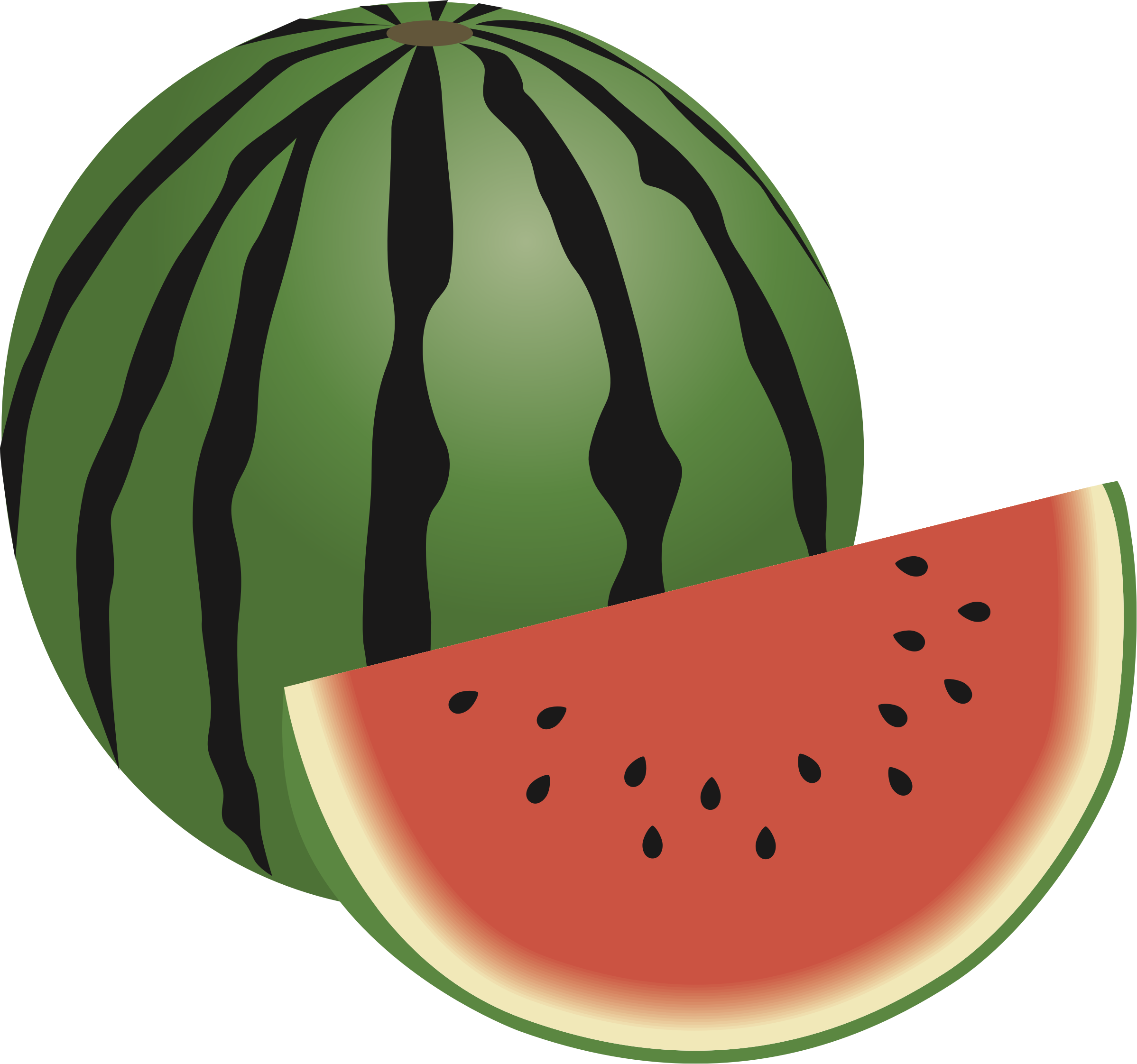 Watermelon clipart whole. Big image png