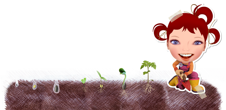 Planting clipart animation. Dirtgirlworld eco shop dirtgirls