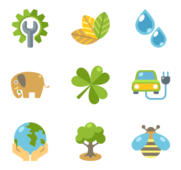 Grow icons free ecology. Planting clipart vector