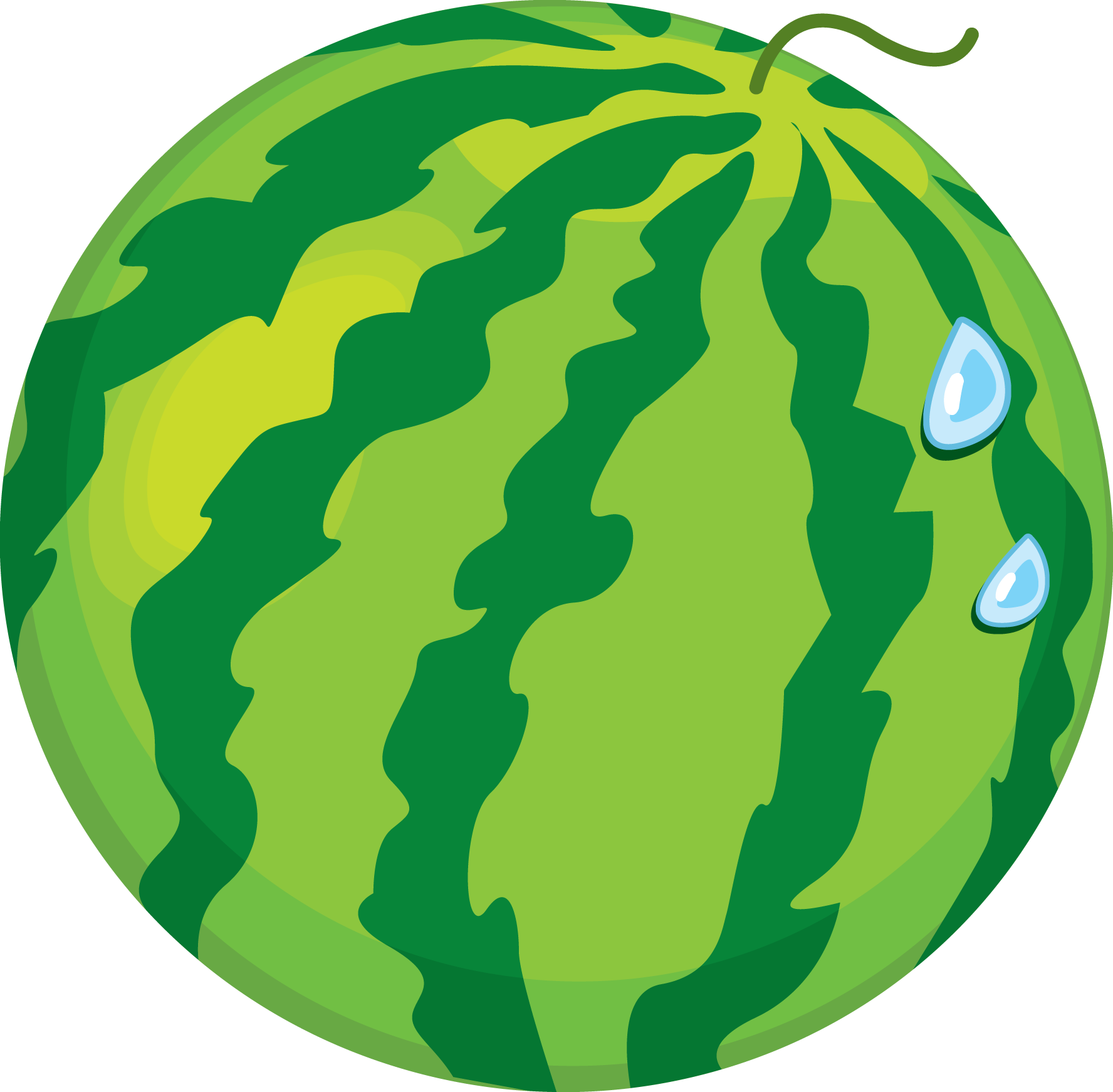 Transparent png image web. Watermelon clipart full
