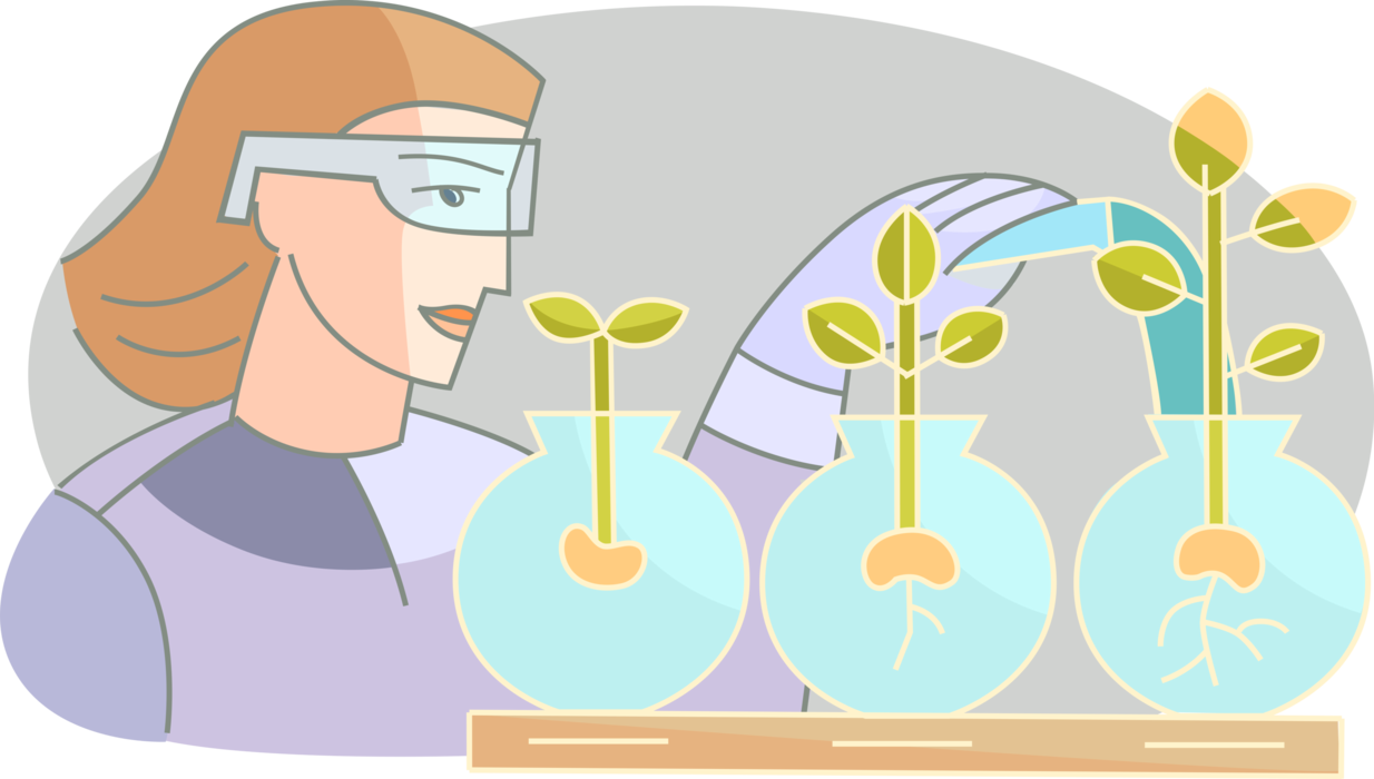 Plants clipart living thing. Botany studies species of
