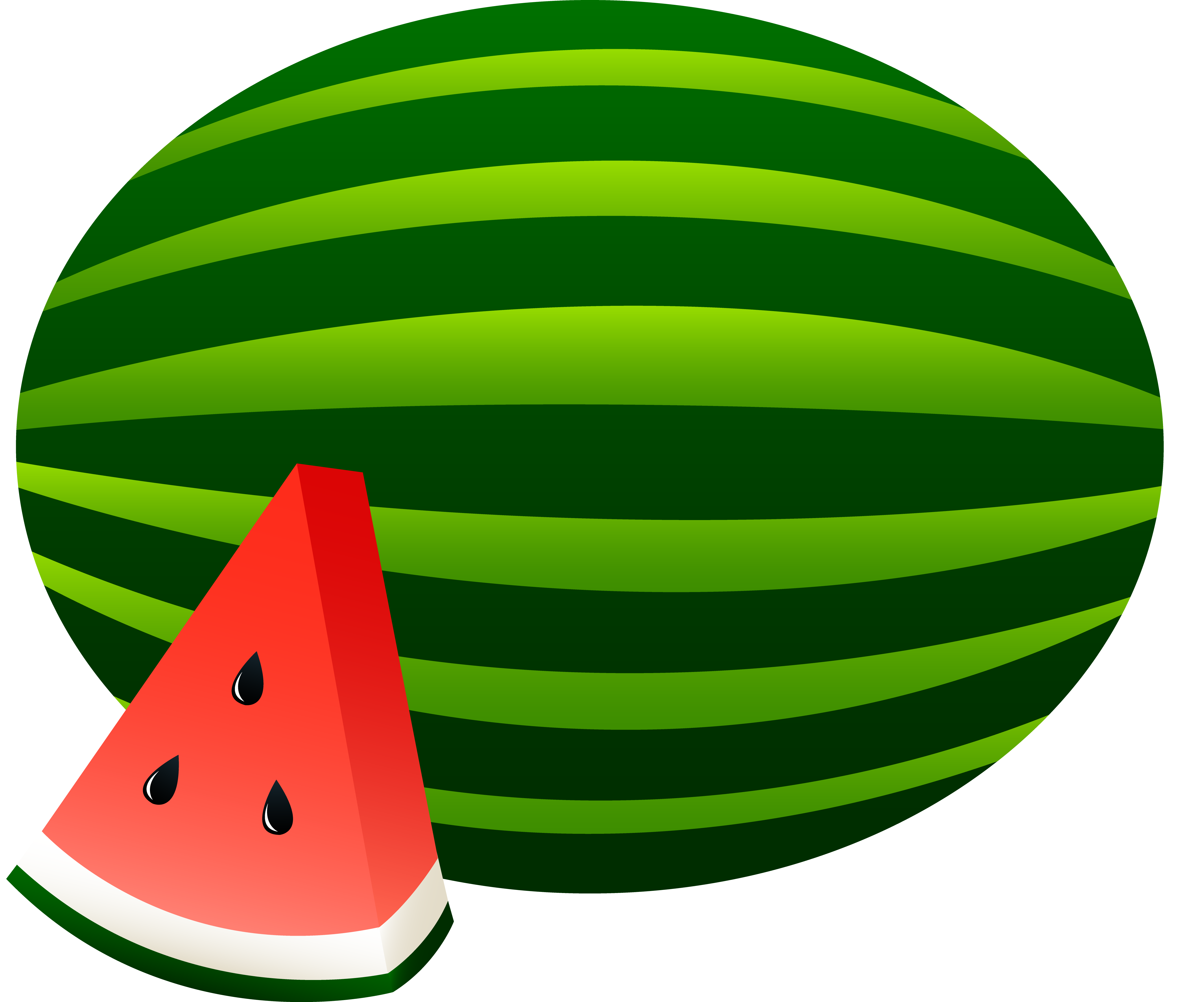 Watermelon clipart whole. Panda free images wholewatermelonclipart