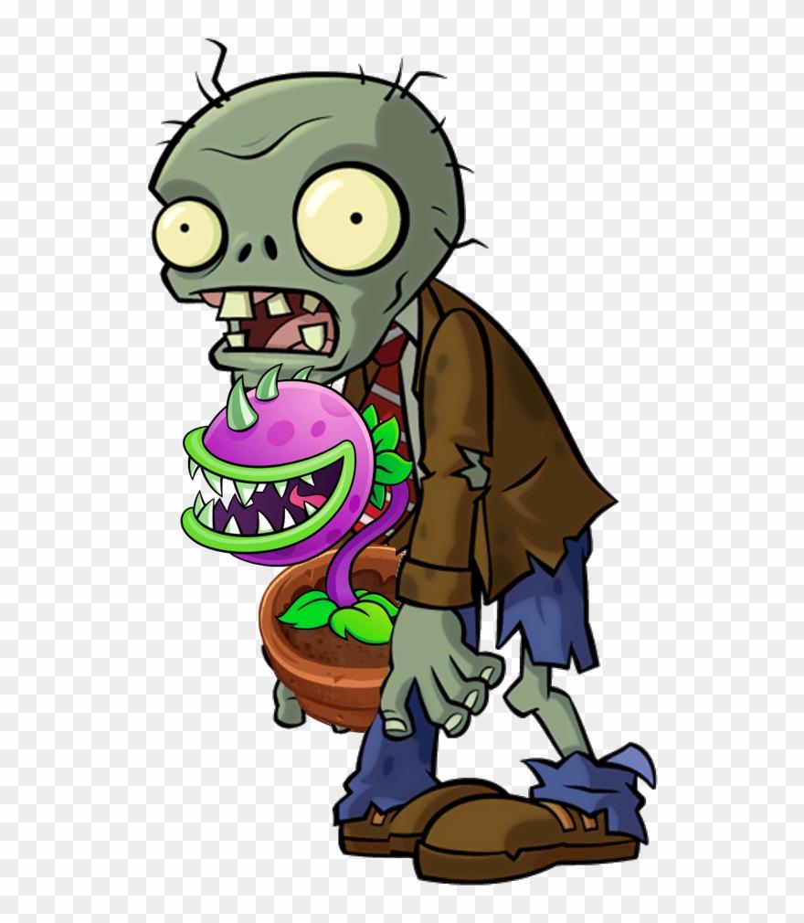 Zombies de vs png. Plants clipart zombie