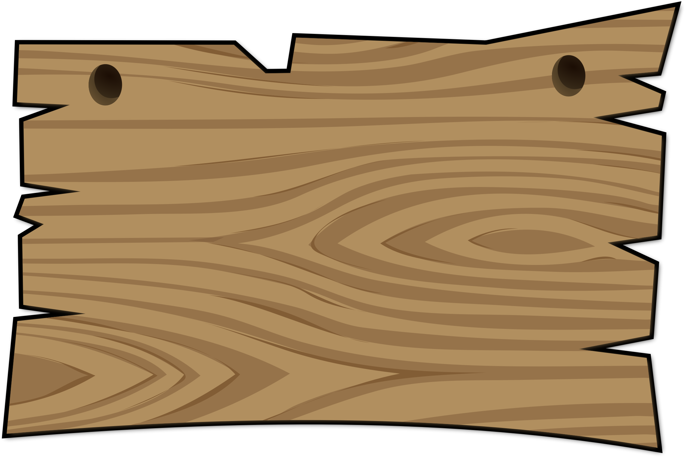 Plaque clipart. Wood