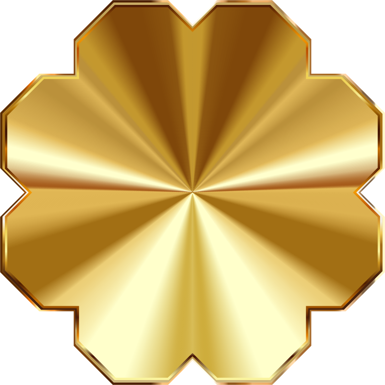 No background medium image. Plaque clipart gold