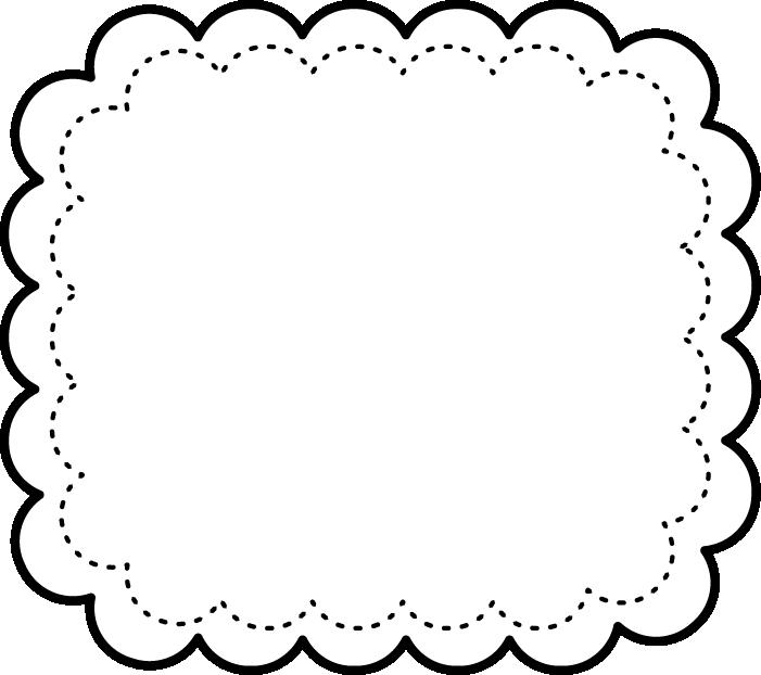 Plaque scallop shape