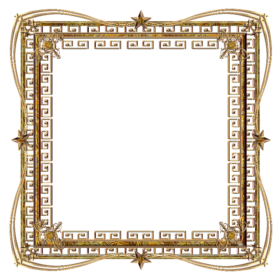 Yellow frame png. Gold picture frames pinterest