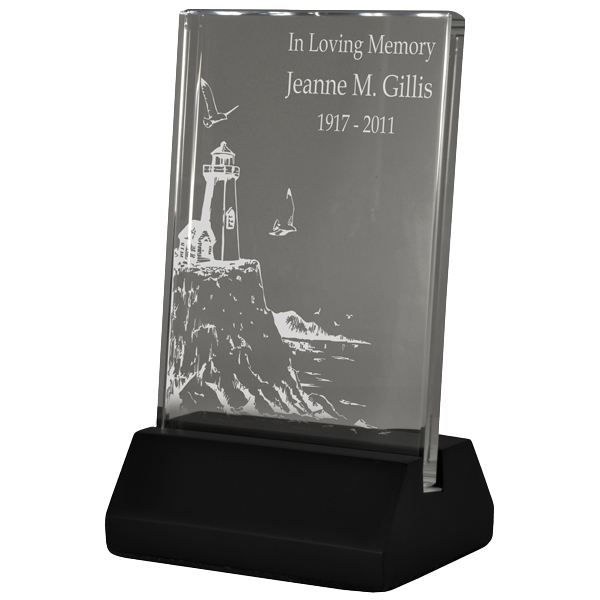 Plaque clipart trophie. Lighted engraved glass customizable