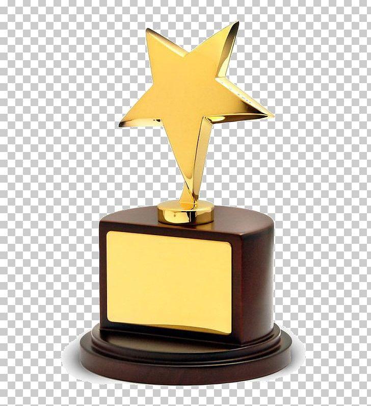 Plaque clipart trophie. Award trophy commemorative gold