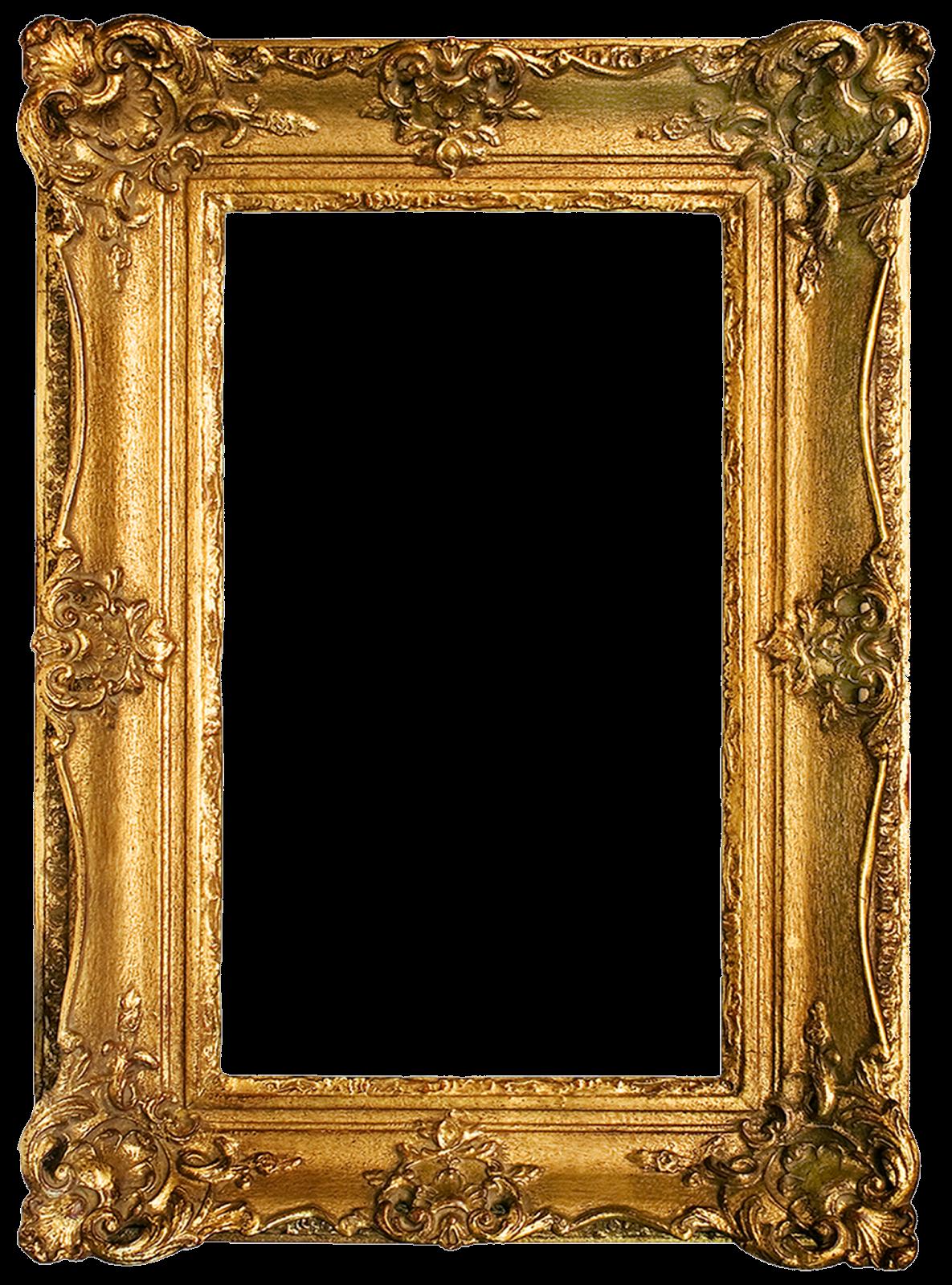 Fancy frame png. Vintage gold gilded frames