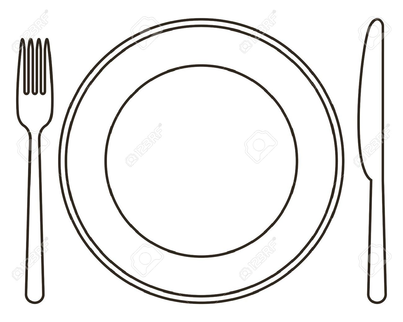 clipartlook. Plate clipart