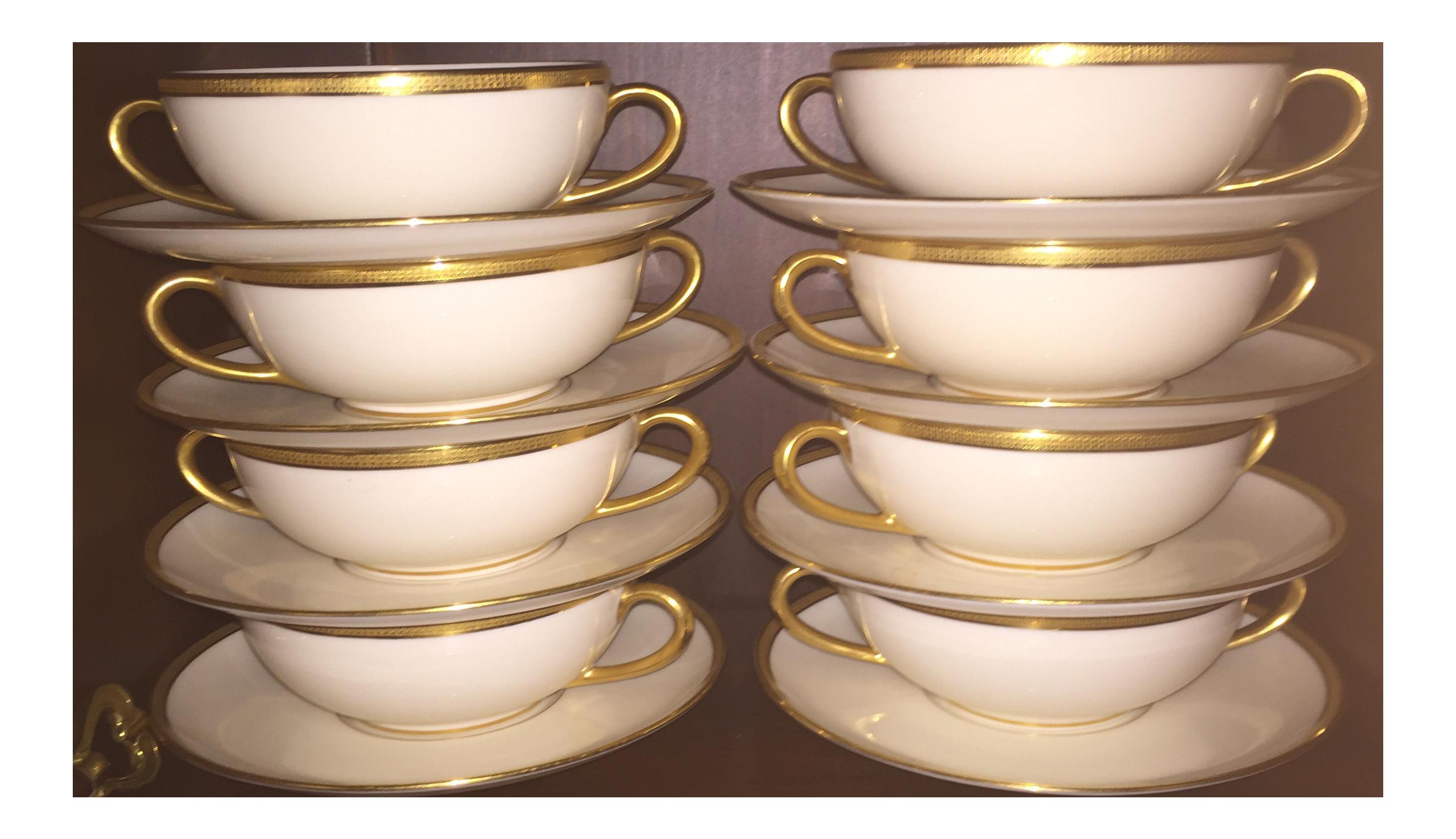 Plate clipart soup bowl. Marshall fields lenox cream