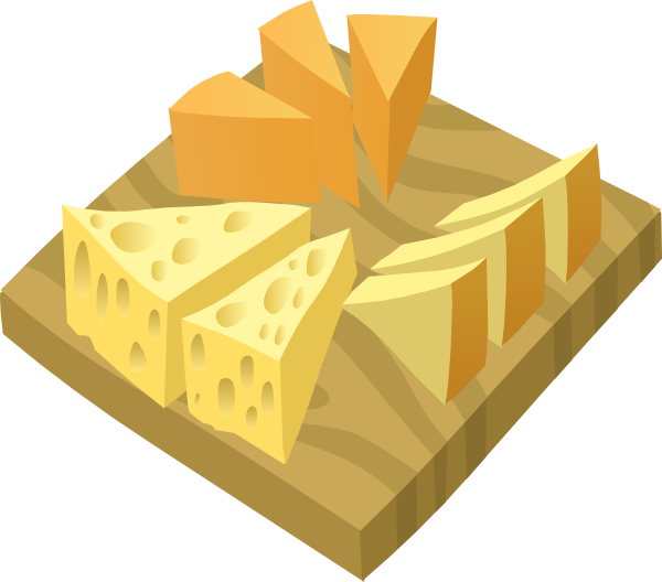 Plate clip art at. Cheese clipart cheese platter