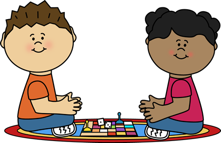 Playing board game clip. Play clipart