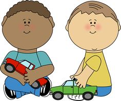 Play clipart. Children at clip art