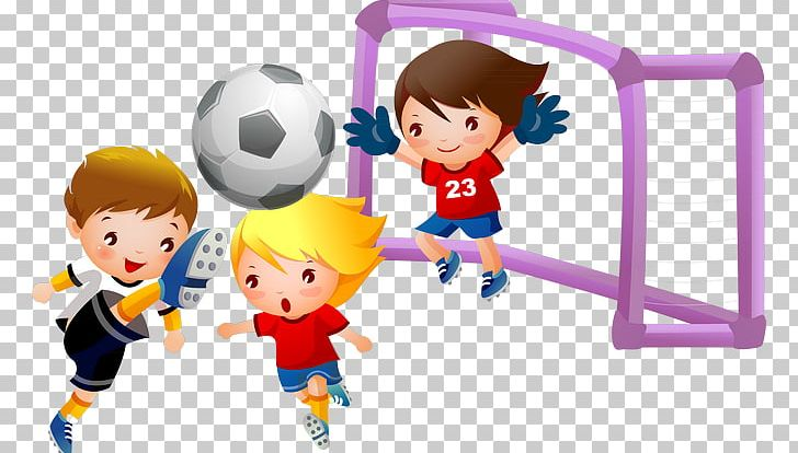 Child png ball boy. Play clipart football team