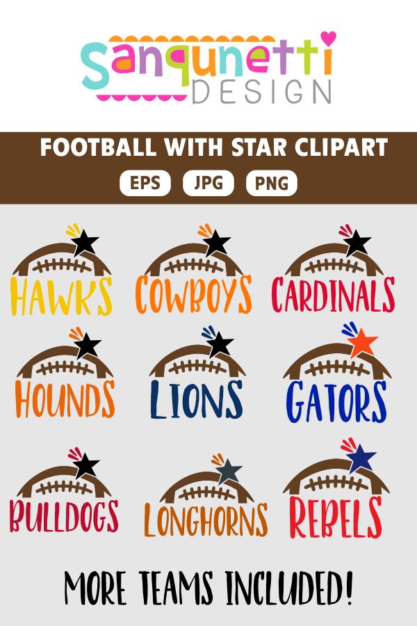 Play clipart football team. Teams college
