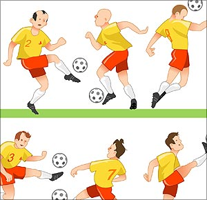Play clipart football team. Free player cliparts download