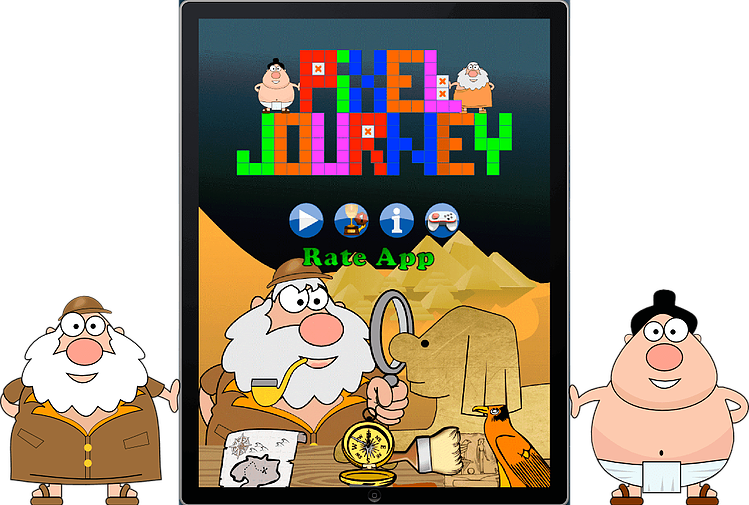 Puzzle clipart playing block. Pixel journey picture logic