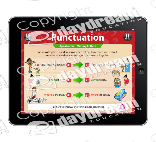 Psychology clipart math practice. Punctuation app