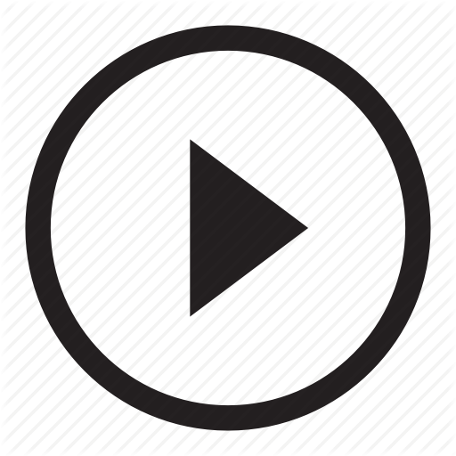 Symbolicons line by audio. Play icon png