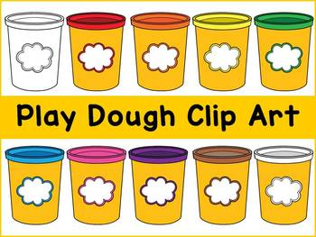 Playdough clipart. Play dough clip art