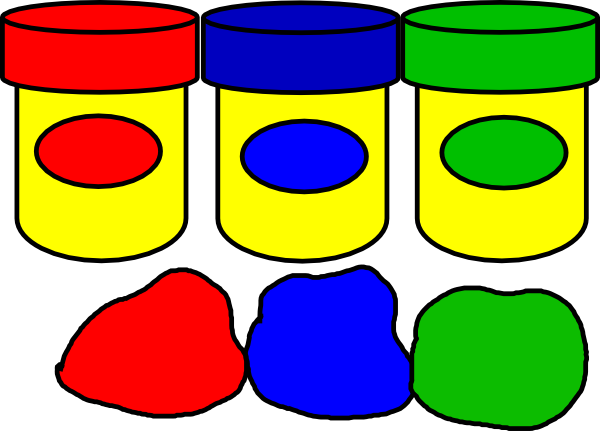 Playdough clipart. Play doh clip art