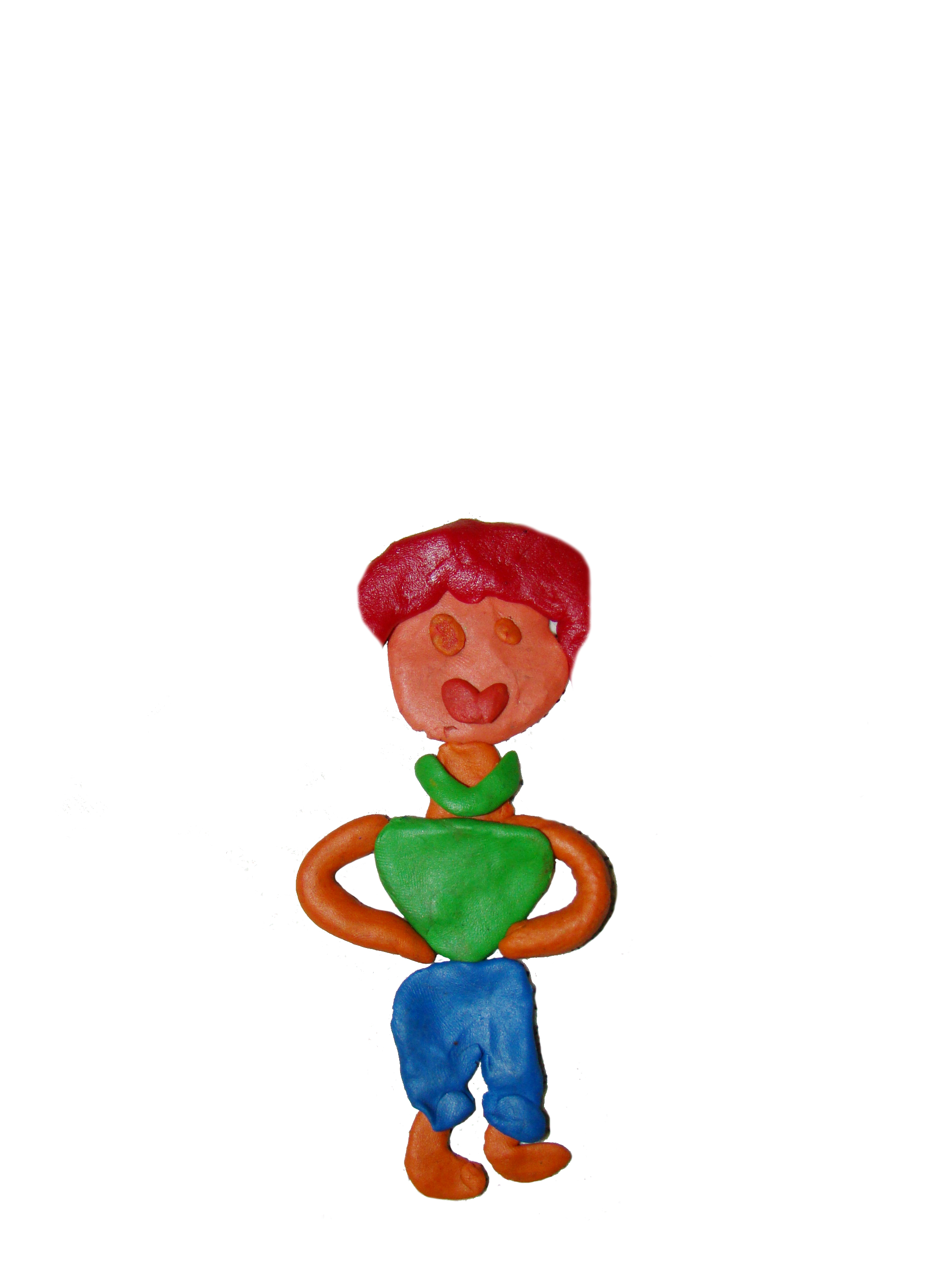 playdough clipart boy