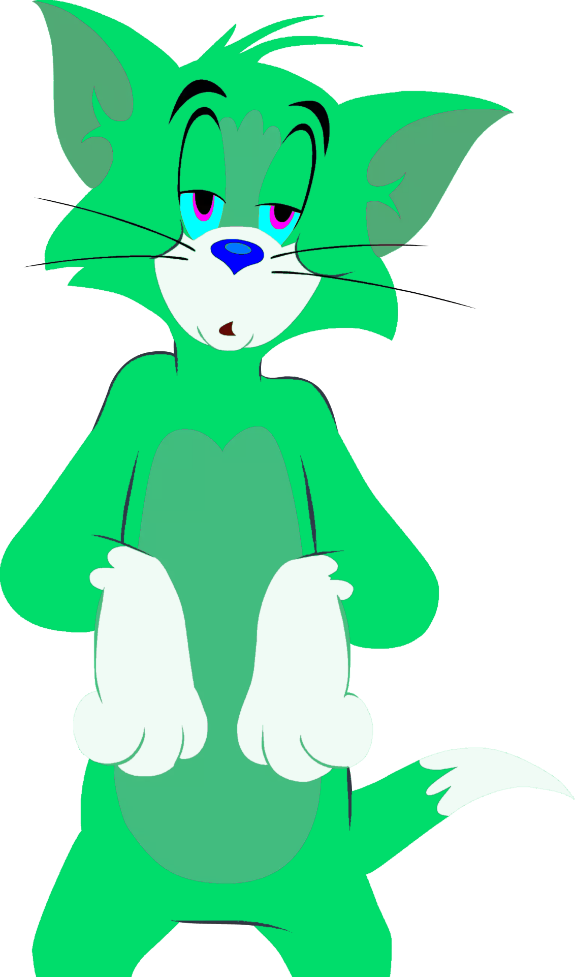 Jade tom and jerry. Playdough clipart green