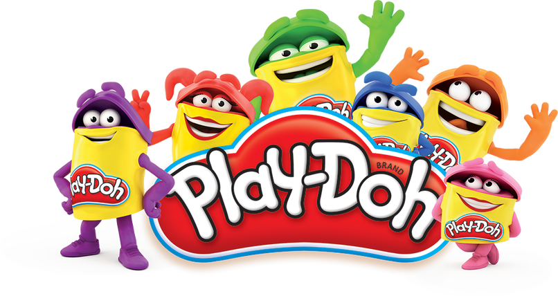 Playdough clipart logo. Play doh cartoon cartoonwjd