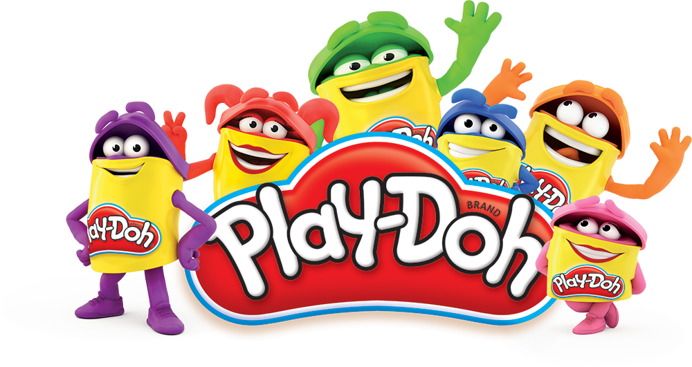 Playdough clipart plastic toy. Play doh logo jpeg