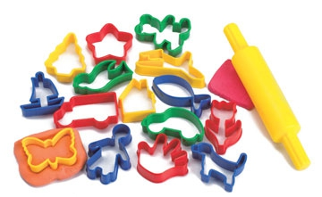 Playdough clipart playdough tool.  clipartlook
