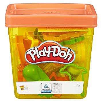 Playdough clipart playing block. Play doh fun tub