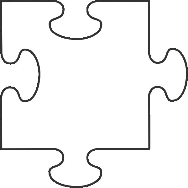 Puzzle clipart complete puzzle. White piece clip art